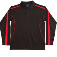 Winning Spirit Long Sleeve Polo