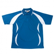 Bocini Unisex Breezaway Sports Polo Shirt