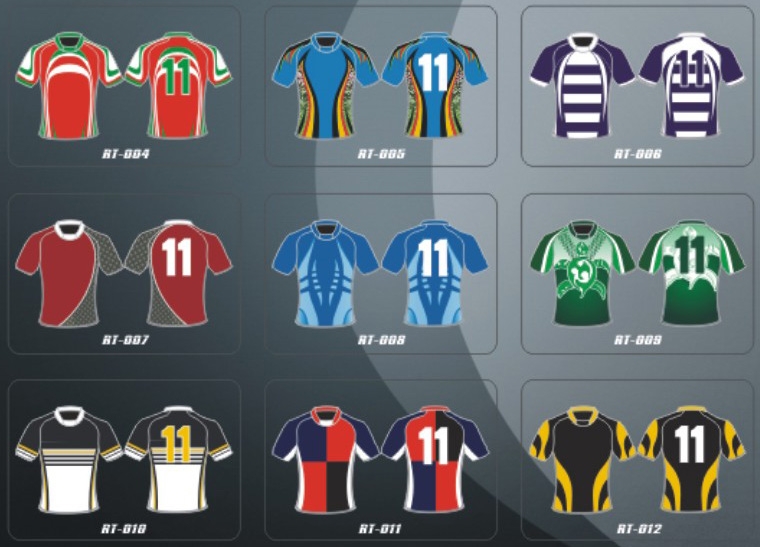 Rugby Uniforms. Soccer Uniforms.