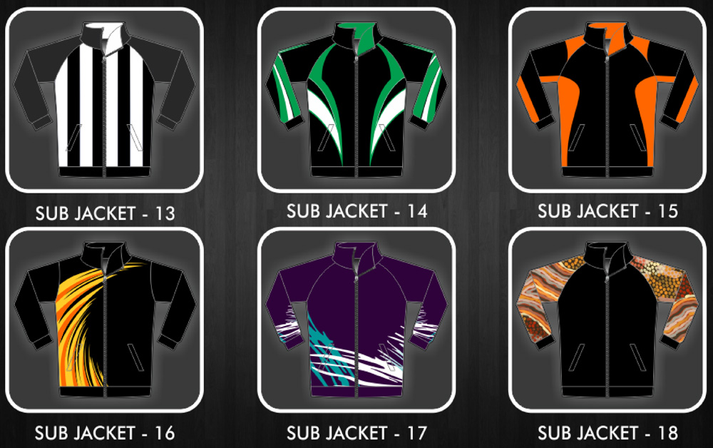 Sublimated Jackets and Hoodies