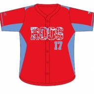 Kay's Custom Sportswear, Sublimated Baseball Shirt - Adults and Kids