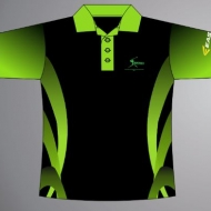 Sublimated Polo Shirt Lime 4
