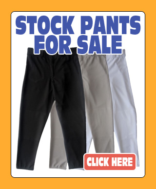 Stock Baseball Pants For Sale